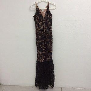 NWT Dress the Population Sophia Lace Mermaid Dress